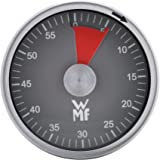 WMF 福腾宝 磁性短时计时器 Cromargan 不锈钢 60 分钟煮蛋计时器 剩余时间显示 声音报警