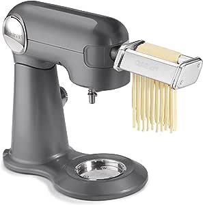 Cuisinart 意大利面滚筒和切割器附件 亮灰色 均码 PRS-50
