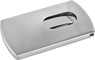 Sigel 名片卡盒 银白 Snap Edelstahl