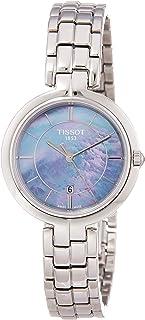 Tissot Flamingo 女式银色石英模拟女式手表 T094.210.11.121.00
