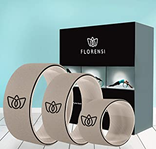Florensi 瑜伽轮(3 件装),后轮,摇滚轮,后轮,瑜伽轮,摇滚轮,后轮,摇滚轮,摇滚轮,瑜伽环,缓解*