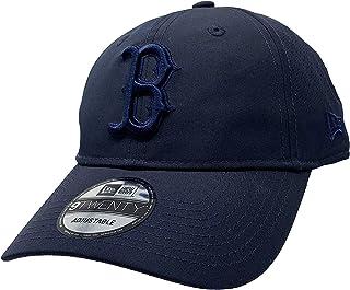 New Era 洛杉矶道奇队可调节后背带帽 9Twenty Curve Bill 帽