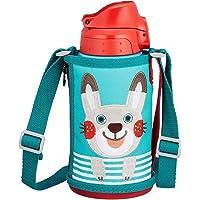 TIGER 虎牌 日本版儿童冷热两用真空保温杯 600ml MBR-B06G AR-鼹鼠