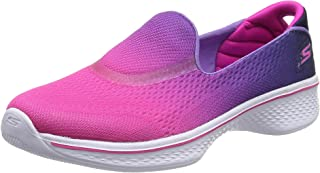 Skechers 女孩 Go Walk 4 - Sporty Starz 训练
