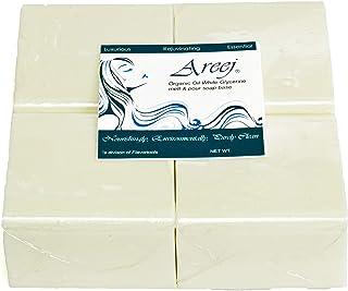 Areej,白色,2 磅*油肥皂块