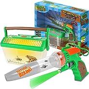 Nature Bound 捕虫器真空吸尘器带发光动物栖息地盒,适用于后院探索 - 儿童全套套件