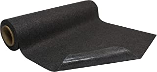 Sure Stride | Slip-Resistant Antimicrobial Adhesive Matting | Quick Drying Temporary On-Demand Matting Great for an Emergency, Includes Free Cutting Knife (Dark Grey, 2' x 25' Roll)