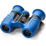 Playco 儿童双筒望远镜 – 8X21 光学镜片确保*大清晰度 – 紧凑高分辨率儿童双筒望远镜,适用于野营、远足、观鸟和户外探索