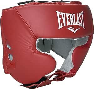 Everlast 620400 业余头部装备,配有雪地犬,红色 L 号
