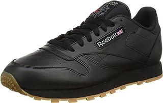 Reebok 男式经典皮革低帮运动鞋