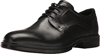 ECCO 爱步 男士Lisbon平头系带牛津鞋