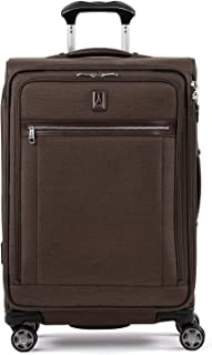 "Travelpro Luggage Platinum Elite 25"" Expandable Spinner Suitcase with Suiter, Rich Espresso"