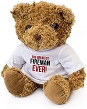 GREATEST FIREMAN EVER - 泰迪熊 - 可愛柔軟的可愛抱 - 獲*禮物禮物 禮物 生日圣誕