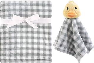 Hudson Baby 毛绒毯和动物*毯套装 鸭子 均码