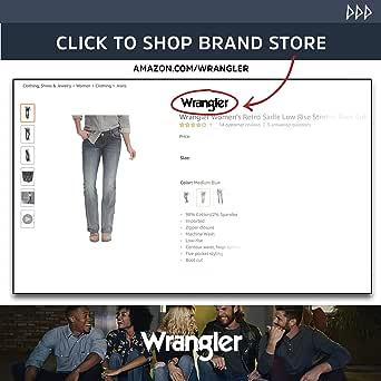 Wrangler 女士牛仔牛仔裤 白色 15 Average