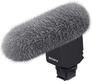 Sony 索尼 ECM-B1M 枪麦克风(通过多接口配件鞋带集成数字音频接口,适用于A7RM4)黑色