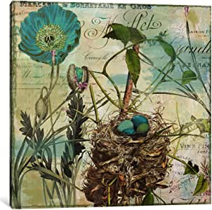 iCanvasART 9681-1PC3-12x12 Nesting I Canvas Print by Color Bakery, 0.75 by 12 by 12-Inch