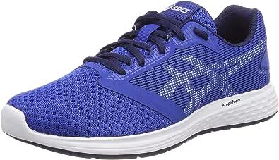ASICS 男童 Patriot 10 Gs 比赛跑鞋 Multicolour (Imperial/White 402) 6 UK