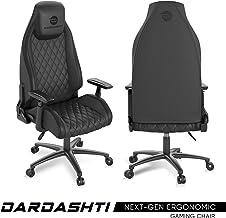 Atlantic Dardashti 游戏椅 - 商业级,人体工程学黑色 PN78050356