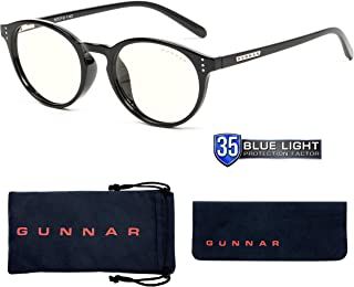Gunnar Optiks ATT-00109 Attache 电脑眼镜 - 阻挡蓝光,防眩光,*大程度减少数字眼部应变,玛瑙/*精