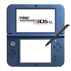 New 任天堂 3DS LL掌上游戏机 金属蓝