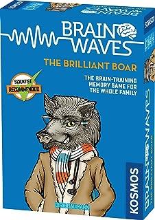 Brainwaves:Thames & Kosmos Brilliant A Kosmos 游戏 | 乐趣,科学家认可,家庭友好型游戏,磨破您的思想,适合 8 岁以上儿童 The Brilliant Boar 不适用