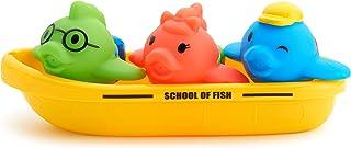 美国 Munchkin 满趣健 飞鱼小船洗澡玩具MK44876