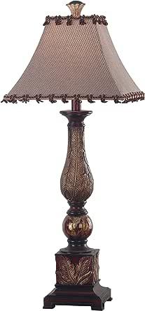 Kenroy Home 31128CBZ 圣卢西亚桌灯,深古铜色