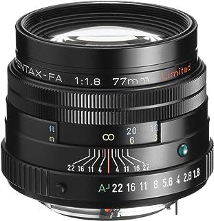 Pentax SMCP-FA 77mm f/1.8 限量镜头,带镜盒和罩盖