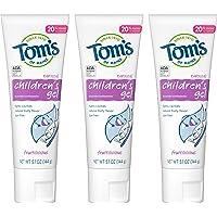 Tom's of Maine 儿童牙膏,儿童牙膏,天然牙膏 5.1 Ounce, 3 Pack