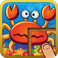 Amazing Animal Jigsaw Puzzles - Cute Learning Game for Kids and Toddlers (Dinosaurs, Sea Life, Africa, Insects)