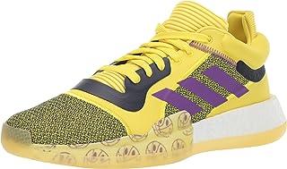 adidas 阿迪达斯 男式 marquee Boost 低帮篮球鞋 - 黄色/紫色/*蓝