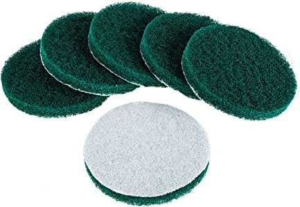 Kichwit 6 片装替换用磨砂垫 Green - Very Abrasive 5 Inch