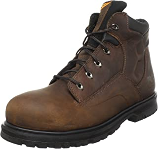 Timberland PRO 男士 Magnus 6英寸安全头工装靴