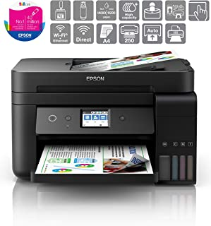 Epson EcoTank ET-4750 A4 Wi-Fi 多功能打印机 打印/扫描/复印 无线打印机