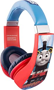 Sakar Thomas and Friends 卡通人物火車 30385 Kid Safe Over the Ear Headphone w/Volume Limiter 出品,3.5MM 立體聲插孔,藍色、紅色和白色