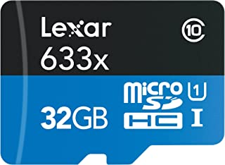 Lexar 雷克沙 高性能 633x 32GB microSDHC UHS-I 存储卡