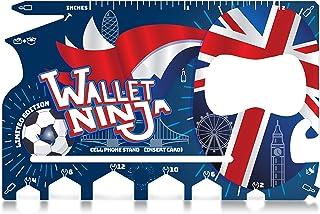Wallet Ninja 限量版(英国)18 合 1 多功能信用卡尺寸多用工具