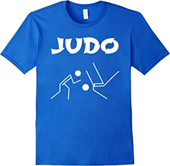 Judo - Men's T-Shirt - Male 3XL - Royal Blue