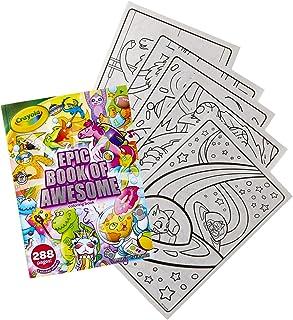 "Crayola 绘儿乐 Epic Book of Awesome *着色书套装,288 个动物着色页,儿童礼品,适合年龄 3 岁、4 岁、5 岁、6 岁 Single Pack ""Multi"""