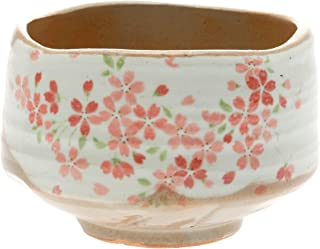 Kotobuki Matcha Chawan 日本茶碗,白色带黑色锌刷设计