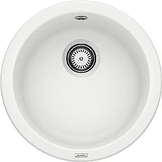 Blanco 鉑浪高RONDO系列 廚房水槽 花崗巖水槽, 單槽,白色,511621