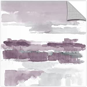 "Tremont Hill Mike Schick ""紫水晶湿地""可移除壁画 紫色 24X24"" 2msc018a2424p"