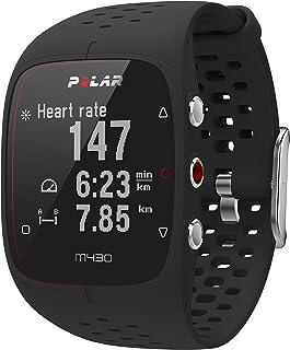 POLAR 【日本正品/日语对应】手腕心率计・GPS跑步手表 M430 黑色 90066336 黑色