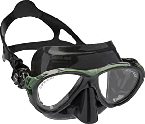 Cressi eyes EVOLUTION 潜水面具–潜水面具–浮潜 freediving 面具带保护套–意大利制造