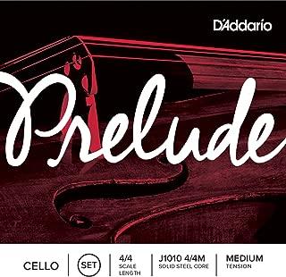 D'Addario 达达里奥 Prelude 中等张力 4/4 大提琴套弦 J1010 4/4M