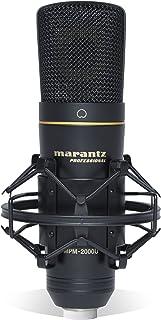 マランツプロ USB ポッドキャスト 录音电容话筒