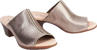 Clarks 女士 Valarie Caddy Heeled Slide 凉鞋