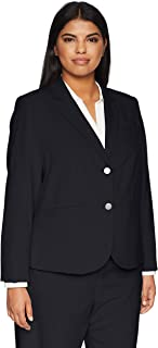 Calvin Klein Women's Plus-Size Career Jacket