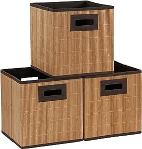 家庭必备品3件套。 优质布料收纳袋 棕色 ML-7080
